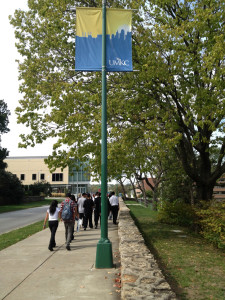 Students attend college visits