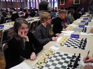 North Chess Club participates in first tournament