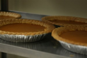 FACS classes prepare pies for local food kitchen