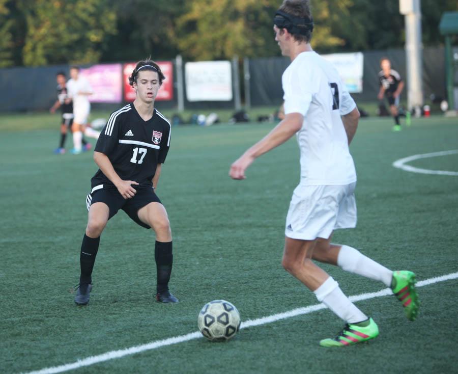 Varsity boy's Soccer Vs Free State