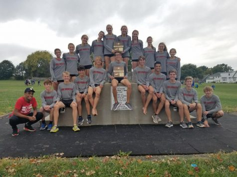 Cross country teams place first at regionals