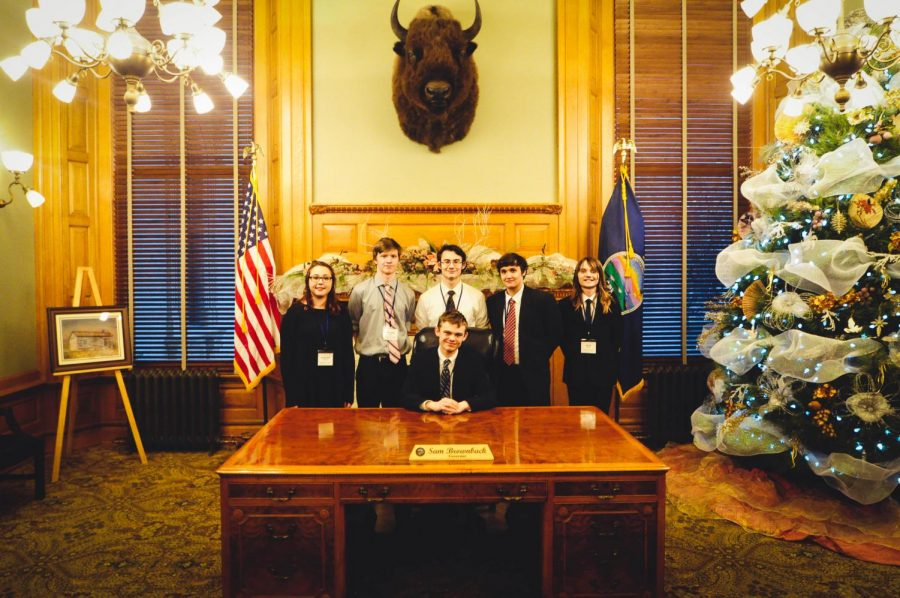 North participates in Kansas Youth and Government