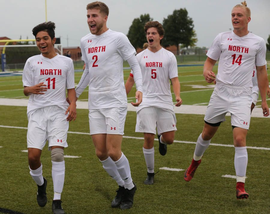 The SM North boys varsity soccer took on the Olathe West Owls at the College Boulevard Activity Center on Sept. 21.