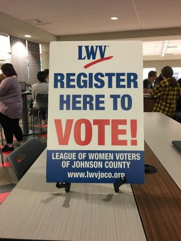 Seniors register to vote