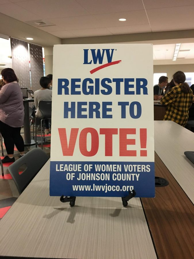 Seniors register to vote