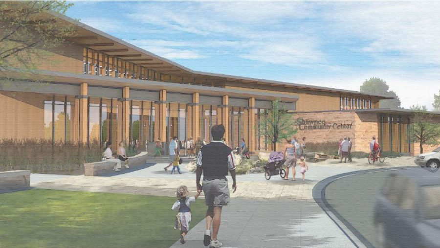 The+City+of+Shawnee+has+released+renderings+of+the+proposed+community+center.+