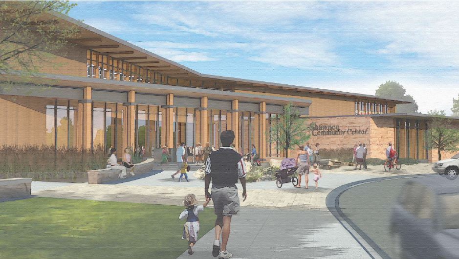 The City of Shawnee has released renderings of the proposed community center.