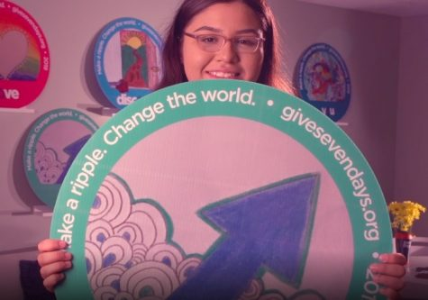 Junior Karen Rosales wins SevenDays artwork button competition