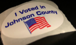 Shawnee Mission School District mock election