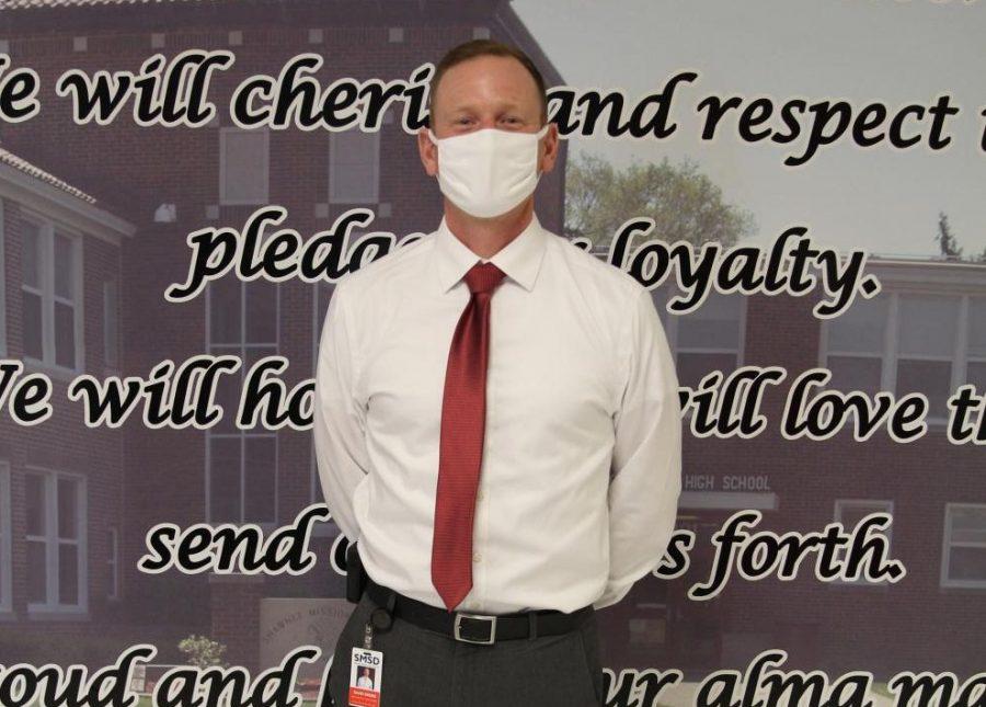 Associate Principal David Ewers  named principal